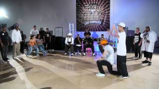 Popping Top 4: Boy Wonder vs Ichi | On The One LA | Funk'd Up TV