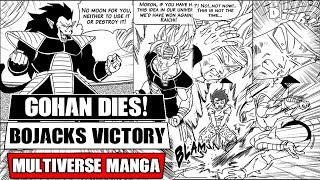 Dragon Ball Multiverse Chapters 18 And 19: Bojack Ends Gohan! Bardock Vs Raditz (Fan Manga Review)