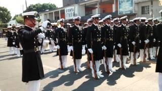 Cadetes de la Marina de México Desfile 2016