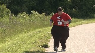 Run For Your Life: Obese Man Running 5km Races To Shed The Pounds width=