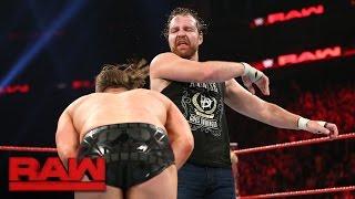 Dean Ambrose vs. The Miz - Intercontinental Championship Match: Raw, May 15, 2016