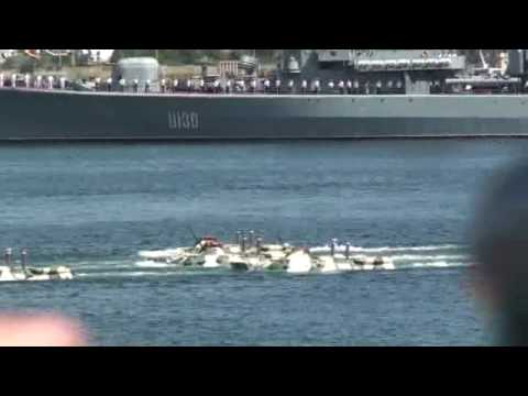07-25-2010 Part 12 of 31 – Navy parade at Sevestopol, Crimea, Ukraine Part 10.wmv