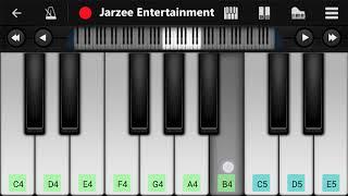 Tujhe Dekha To Yeh Jana Sanam Mobile Piano Tutorial   Jarzee Entertainment