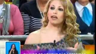 A Psicóloga Cláudia Morais no Você na TV - Homens Vítimas de Violência Doméstica 2