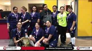 Finales 2017 2018 Las Mismas vs Deportivo Amistad AKD Women Premier Soccer League