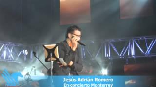 Jesús Adrián Romero  concierto en Monterrey