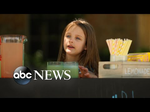 Little 6-year-old girl's big pursuit to helping those in