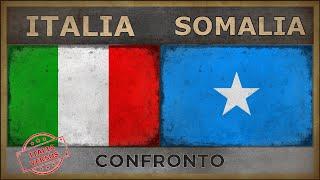 ITALIA vs SOMALIA   Confronto Militare (2018)