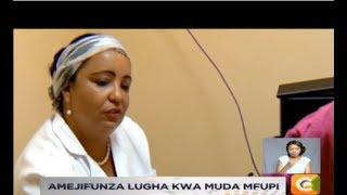Cuban doctor mastering Kiswahili, Dholuo