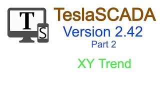 TeslaSCADA  2.42  XY Trend