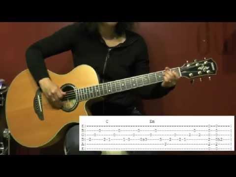 Comment jouer A la faveur de l'automne de Tété à la guitare