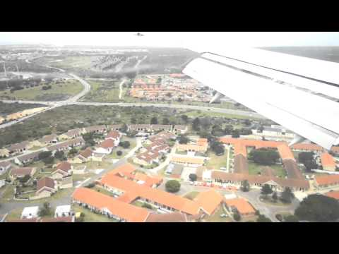 Kulula / British Airways B737-400 Port Elizabeth Landing