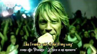Bon Jovi - It's my life(Sub Español + Lyrics)