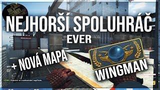 Nejhorší spoluhráč EVER! | První Global Elite Wingman na Vertigu! | IX Gaming | CS:GO