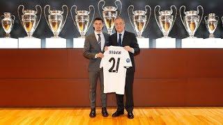 BRAHIM DÍAZ Real Madrid PRESENTATION   FULL STREAM in ENGLISH
