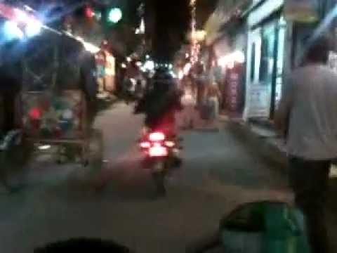 Kathmandu night time bike ride