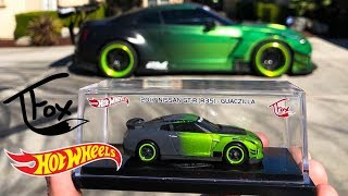 NEW Tanner Fox Hot Wheels Nissan GT-R GUACZILLA!