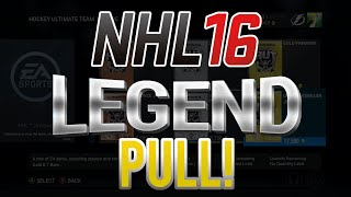 NHL 16 Ultimate Team - Pack Opening - LEGEND PULL!
