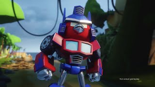 Angry Birds Transformers Comic-Con trailer