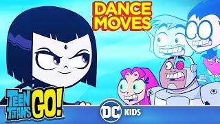 Top 10 Best Dance Moves | Teen Titans Go! | DC Kids