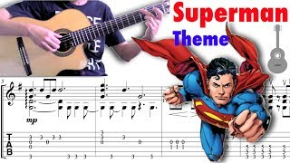 Superman Theme / John Williams (Guitar)  超人主題曲 (吉他)