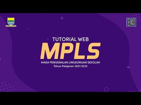 TUTORIAL WEB MPLS TAHUN PELAJARAN 2021/2022