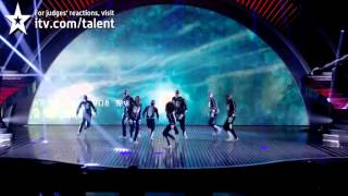 Diversity perform in the BGT Final - Britain's Got Talent 2012 Final - UK version