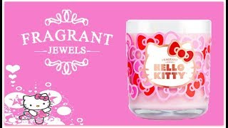 Fragrant Jewels Ring Reveal - Hello Kitty Candle!