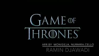 Ramin Djawadi -Game of Thrones:The Rains of Castamere-3 cellos cover