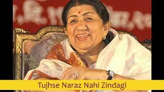 Tujhse Naraz Nahi Zindagi   Lata Mangeshkar best early 80's songs
