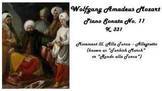 Wolfgang Amadeus Mozart - Rondo Alla Turca in 432 Hz tuning