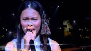 The Voice Kids Thailand - Semi Final - น้ำฝน - เพื่อแม่แพ้ บ่ ได้ - 29 Mar 2015