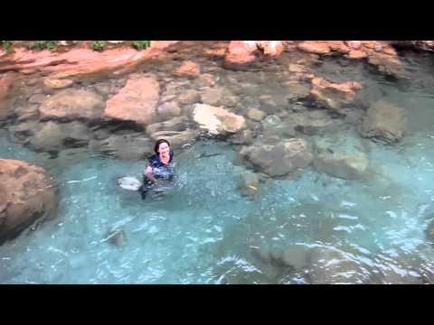 Swimming near Akchour