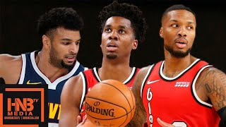 Denver Nuggets vs Portland Trail Blazers - Full Game Highlights | October 8, 2019 NBA Preseason
