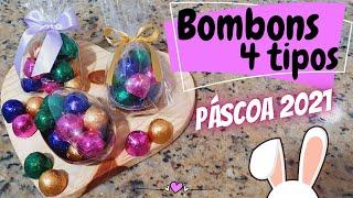 BOMBONS (4 TIPOS) – ESPECIAL DE PÁSCOA 2021