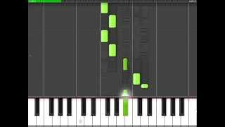 Avicii- Hey Brother. [Easy Piano Tutorial] [70% speed]