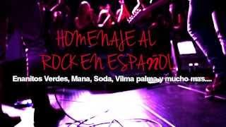 Espiritus Rock Homenaje al Rock en Espanol en Mangobiche