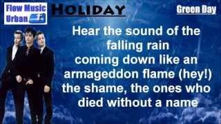 Holiday (Letra) Green Day