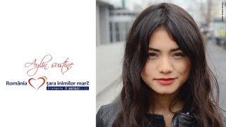 Aylin sustine campania Romania, tara inimilor mari