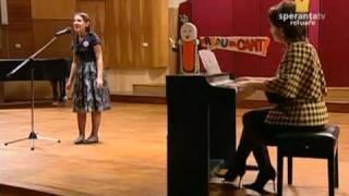 Aldana Cazacu - Sunt atatea lucruri minunate,Speranta Tv-Vreau sa cant