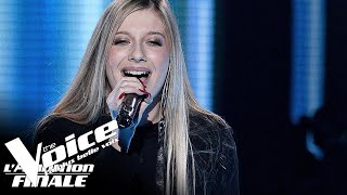 2pac ft. Dr.Dre (California love) | Laura | The Voice France 2018 | Auditions Finales