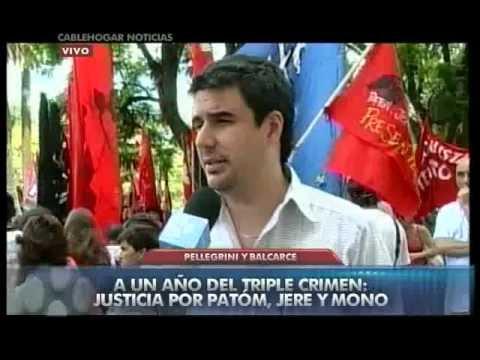 Thumbnail for Multitudinaria marcha a un año del triple crimen de Villa Moreno   Mi ciudad   NotiExpress
