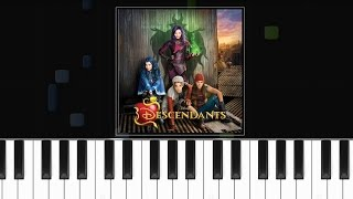 Descendants ft Mitchell Hope  - ''Did I Mention'' - Piano Tutorial - Chords - How To Play - Cover