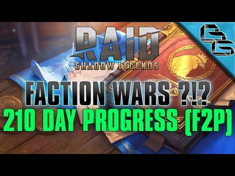 RAID: Shadow Legends | 210 Day Progress !! | FREE Sacred Shard | F2P