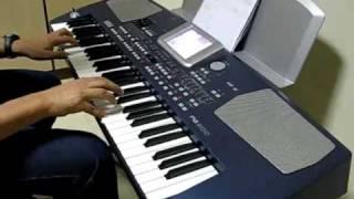 Detalhes - Roberto Carlos - no teclado Korg PA 500