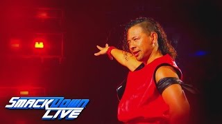 Behold the artist known as Shinsuke Nakamura: SmackDown LIVE, April 18, 2017