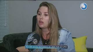 Mulher acusa motorista de Uber por estupro - SBT Paraná (02/11/17)