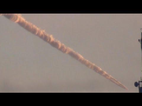 Meteorite crashes meteor strike meteoryt HAARP? UFO?