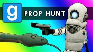 Gmod Prop Hunt Funny Moments - Little Hunter Edition! (Garry's Mod) width=