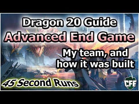 RAID Shadow Legends | Advanced Dragon 20 Guide | 45 Second Runs